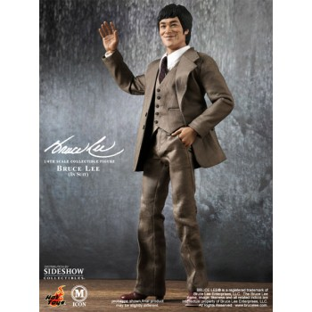 Bruce Lee Movie Icon Action Figure 1/6 70s Suit Version 30 cm