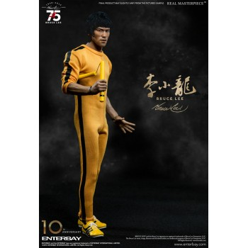 Bruce Lee Real Masterpiece Action Figure 1/6 Bruce Lee 75th Anniversary 30 cm