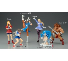 CFC Capcom Fighting Evolution Trading Figures Closed Box Asst.