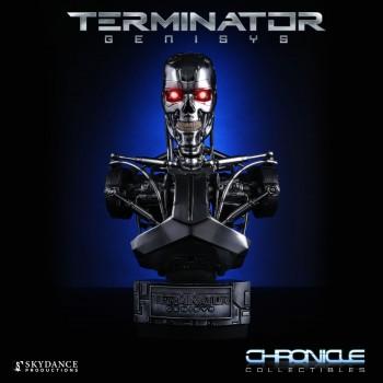 Terminator Genisys Endoskeleton 1/2 Scale Bust