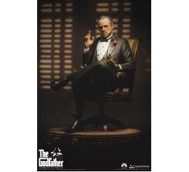 """""""The Godfather"""" 1972 Edition of Vito Andolini Corleone 1:3 Full-Body Statue 52 cm"""