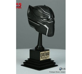 Captain America Civil War Marvel Armory Collection Replica 1/3 Black Panther Helmet