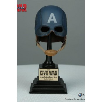 Captain America Civil War Marvel Armory Collection Replica 1/3 Captain America Helmet