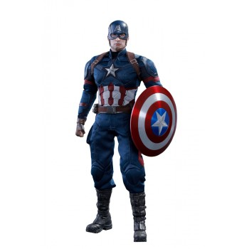 Captain America Civil War Movie Masterpiece Action Figure 1/6 Captain America 31 cm