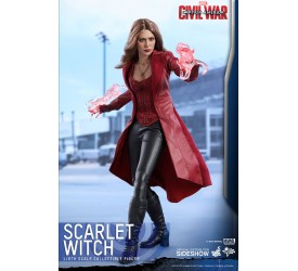 Captain America Civil War Movie Masterpiece Action Figure 1/6 Scarlet Witch 28 cm