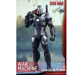Captain America Civil War Movie Masterpiece Diecast Action Figure 1/6 War Machine Mark III 32 cm