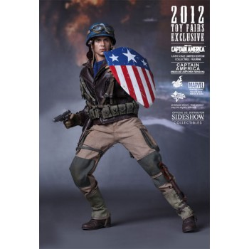 Captain America - Rescue Version sideshow Comic-Con 2012 Exclusive 30cm