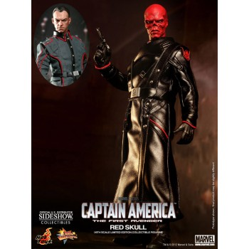Captain America The First Avenger Movie Masterpiece Action Figure 1/6 Red Skull 30 cm