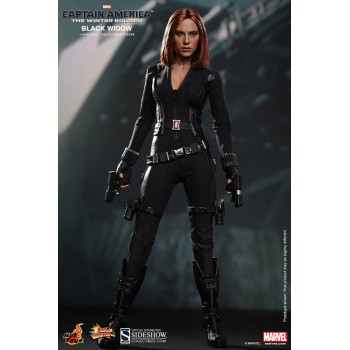 Captain America The Winter Soldier Movie Masterpiece Action Figure 1/6 Black Widow 30 cm