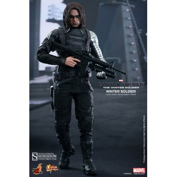 Captain America The Winter Soldier Movie Masterpiece Action Figure 1/6 Winter Soldier 30 cm