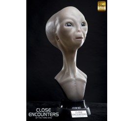 Close Encounters of the Third Kind Alien visitor 1/1 scale life size bust 60 cm (Restock)