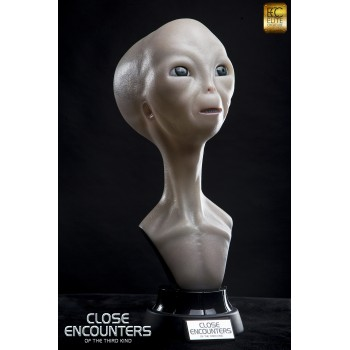 Close Encounters of the Third Kind Alien visitor 1/1 scale life size bust 60 cm