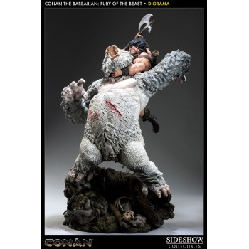 Conan the Barbarian Diorama 1/5 Fury of the Beast 70 cm