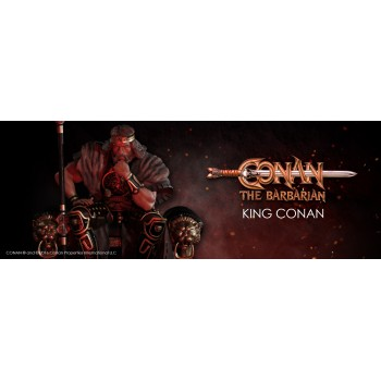 Conan the Barbarian King Conan 1/4 scale statue 53 cm