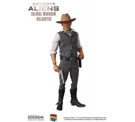 Cowboys and Aliens RAH Action Figure 1/6 Colonel Woodrow Dolarhyde 30 cm