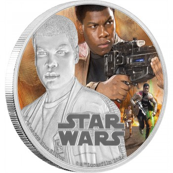 Star Wars Episode VII 1 Oz Silver Coin Finn
