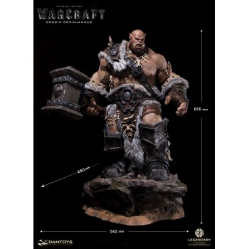 DAMTOYS EPIC SERIES WARCRAFT ORGRIM 65 cm