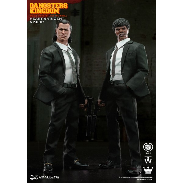 1:6 scale DAM TOYS GK015 Gangsters Kingdom Heart 4 VINCENT SHOES