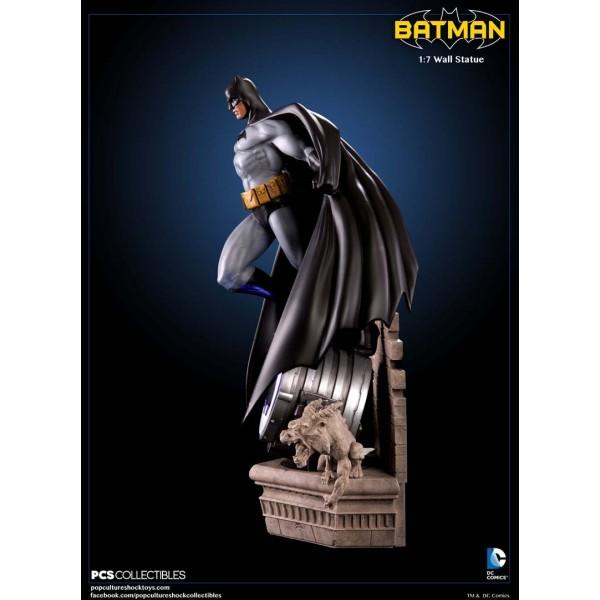 Dc comics batman modern age scale wall statue cm