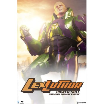 DC Comics Premium Format Figure Lex Luthor Power Suit 66 cm