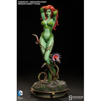 DC Comics Premium Format Figure 1/4 Poison Ivy Green with Envy 53 cm