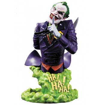 DC Comics Super Villains Bust The Joker 15 cm