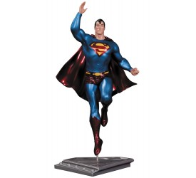DC Comics Superman The Man Of Steel Statue Frank Quitely 17 cm