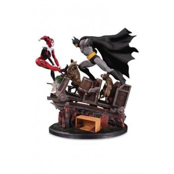 DC Comics Statue 1/8 Batman VS. Harley Quinn Battle Second Edition 44 cm