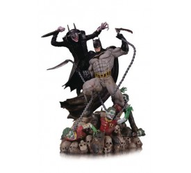 DC Comics Battle Statue Batman Who Laughs vs. Batman 33 cm
