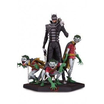 Dark Nights Metal Deluxe Statue Batman Who Laughs & Robin Minions 21 cm
