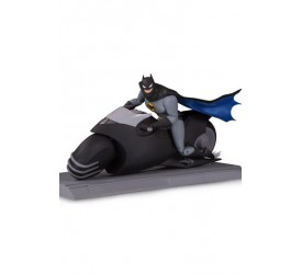 Batman The Animated Series Action Figure Batman with Batcycle 15 cm