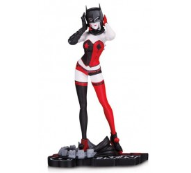DC Comics Red, White & Black Statue Harley Quinn by John Timms 18 cm