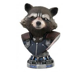 Avengers Endgame Legends in 3D Bust 1/2 Rocket Raccoon 20 cm