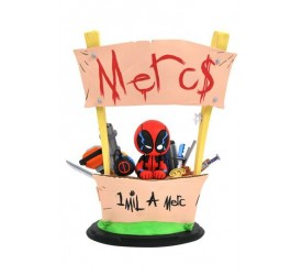 Marvel Animated Statue Deadpool Merc For Hire 20 cm