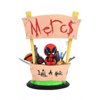Marvel Animated Statue Deadpool Merc For Hire 20 cm