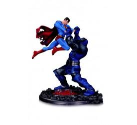 DC Comics Statue Superman vs. Darkseid 3nd Edition 18 cm
