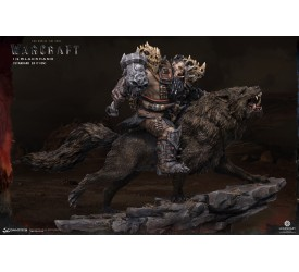 Warcraft The Beginning Statue 1/9 Blackhand Riding Wolf (Standard Version) 40 cm