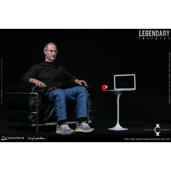 Damtoys Legendary Inventor 2017 Sidney Maurer Homage Artwork of Steve Jobs