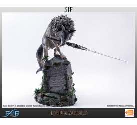 Dark Souls Statue The Great Grey Wolf Sif 64 cm