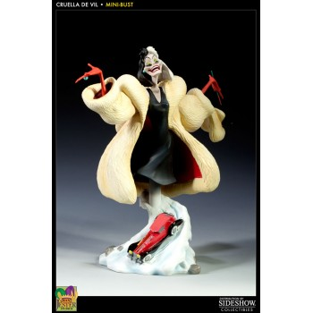 Disney Classics Collection Bust Cruella DeVil (101 Dalmatians) 24 cm