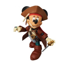 Disney Miracle Action Figure Mickey Mouse Jack Sparrow Version 14 cm