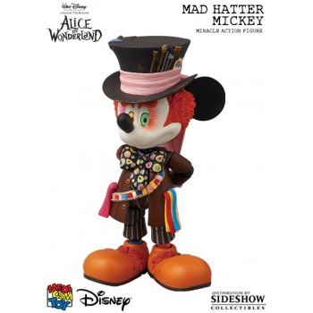 Disney Miracle Action Figure Mickey Mouse Mad Hatter Version 14 cm