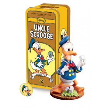 Disney Statue Classic Uncle Scrooge Series 2 Square Egg Donald Duck 13 cm