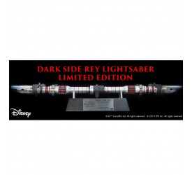 Star Wars The Rise of Skywalker Dark Side Rey Lightsaber Replica