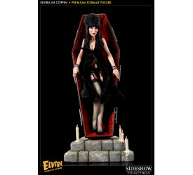 Elvira Premium Format Figure 1/4 Elvira in Coffin 51 cm