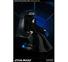 Emperor Palpatine and Imperial Throne Premium Format Figure