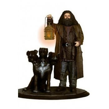 Harry Potter Premium Motion Statue Hagrid and Fluffy 25 cm