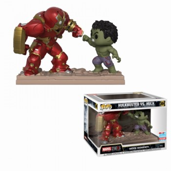 Marvel Studios: The First Ten Years Hulkbuster vs Hulk Movie Moments Pop! Vinyl Figure 2-Pack (2018 Fall Convention Exclusive)
