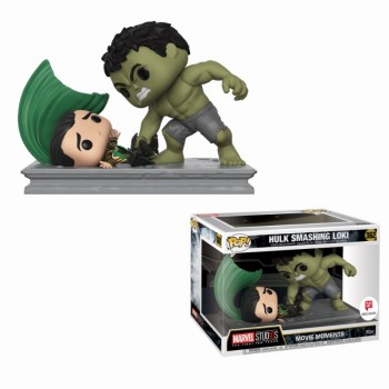 Marvel Studios: The First Ten Years - Hulk Smashing Loki Movie Moment Pop! Vinyl Figure 2-Pack Limited Edition