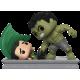 Marvel Studios: The First Ten Years - Hulk Smashing Loki Movie Moment Pop! Vinyl Figure 2-Pack Limited Edition